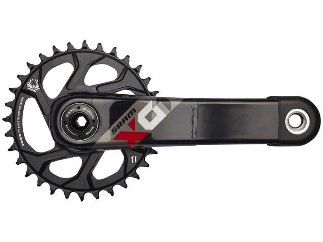 SRAM X01 Eagle BB30 Kurbelgarnitur 32 Zähne schwarz-rot